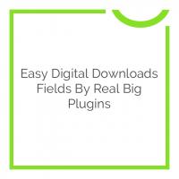Easy Digital Downloads Fields by Real Big Plugins 1.0.1