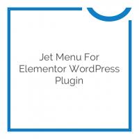 Jet Menu for Elementor WordPress Plugin 1.5.2