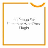 Jet Popup for Elementor WordPress Plugin 1.1.0