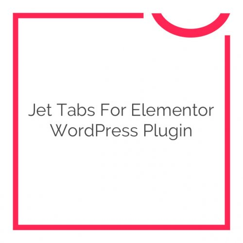 Jet Tabs for Elementor WordPress Plugin 1.1.3