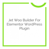 Jet Woo Builder for Elementor WordPress Plugin 1.3.4