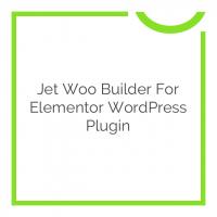 Jet Woo Builder for Elementor WordPress Plugin 1.3.4