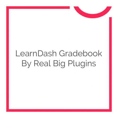 LearnDash Gradebook by Real Big Plugins 1.3.8