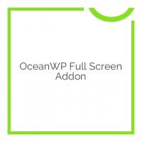 OceanWP Full Screen Addon 1.0.4