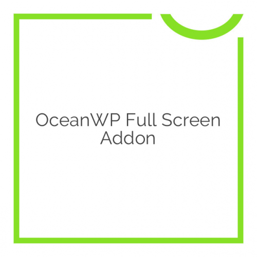 OceanWP Full Screen Addon 1.0.4