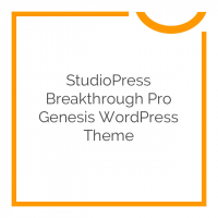 StudioPress Breakthrough Pro Genesis WordPress Theme 1.0.0