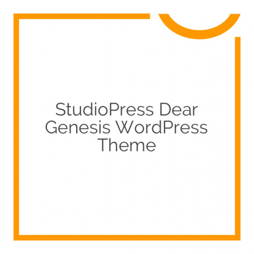 StudioPress Dear Genesis WordPress Theme 1.0.0