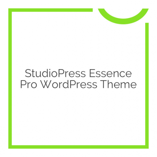 StudioPress Essence Pro WordPress Theme 1.0.2