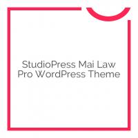 StudioPress Mai Law Pro WordPress Theme 1.0.0