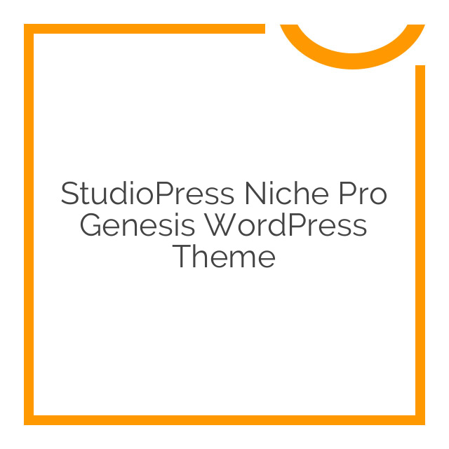 StudioPress Niche Pro Genesis WordPress Theme 1.0.0