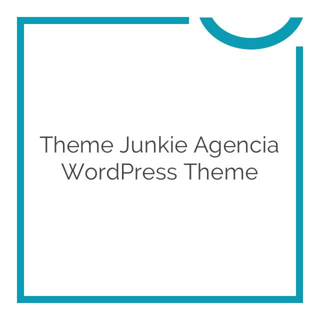 Theme Junkie Agencia WordPress Theme 1.0.0