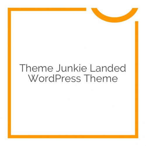 Theme Junkie Landed WordPress Theme 1.0.0