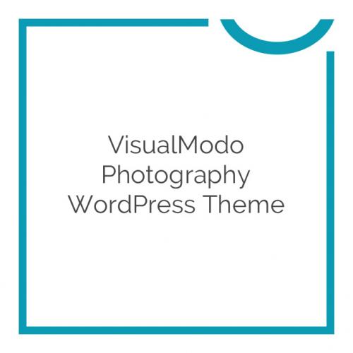 VisualModo Photography WordPress Theme 1.0.0