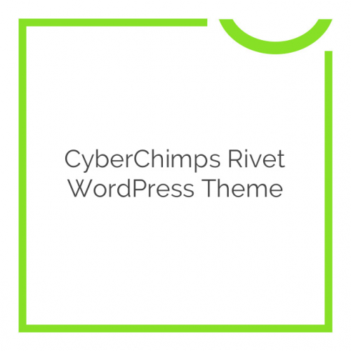 CyberChimps Rivet WordPress Theme 1.0.0