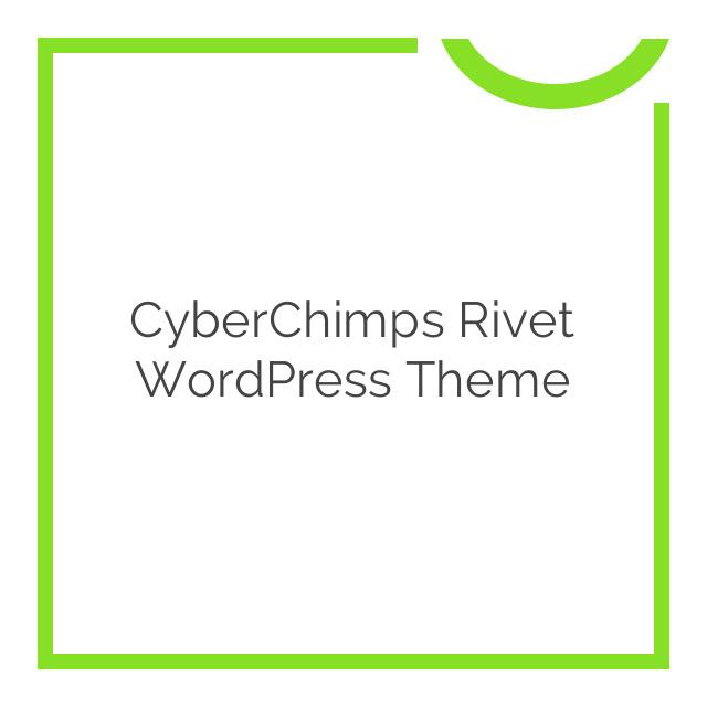 CyberChimps Rivet WordPress Theme 1.0.0
