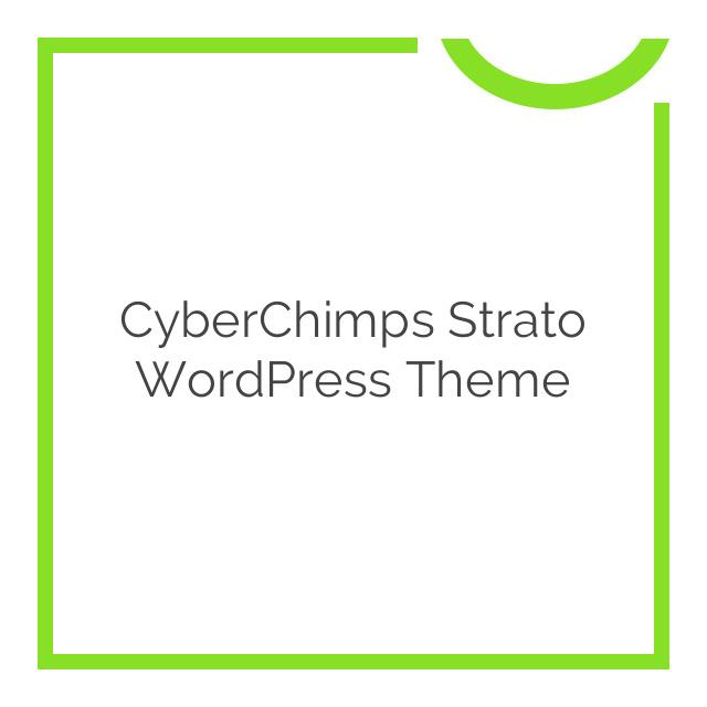 CyberChimps Strato WordPress Theme 1.0.0