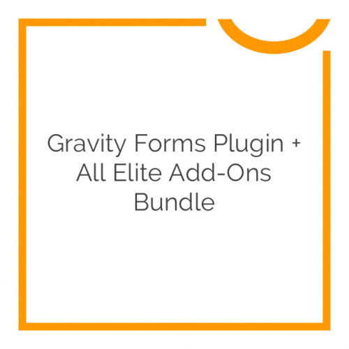 Gravity Forms Plugin + All Elite Add-Ons Bundle 2019
