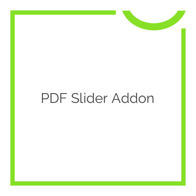 Soliloquy PDF Slider Addon 1.0.1