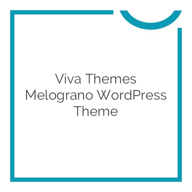 Viva Themes Melograno WordPress Theme 1.0.0
