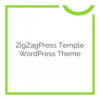 ZigZagPress Temple WordPress Theme 1.0.0