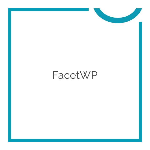 FacetWP Bundle 2019