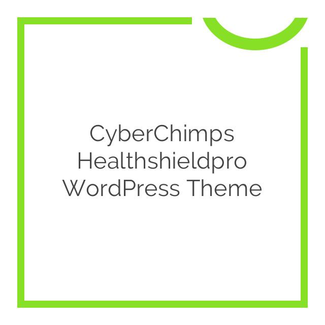 CyberChimps Healthshieldpro WordPress Theme 1.0.0