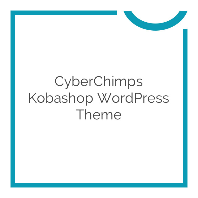 CyberChimps Kobashop WordPress Theme 1.0.0