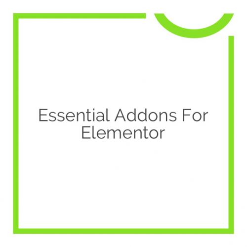 Essential Addons for Elementor 2.14.2