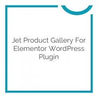 Jet Product Gallery for Elementor WordPress Plugin 1.0.0
