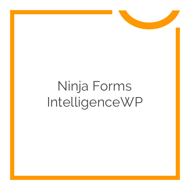 Ninja Forms IntelligenceWP 3.0.3