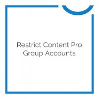 Restrict Content Pro Group Accounts 1.4.1
