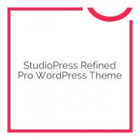 StudioPress Refined Pro WordPress Theme 1.1.0