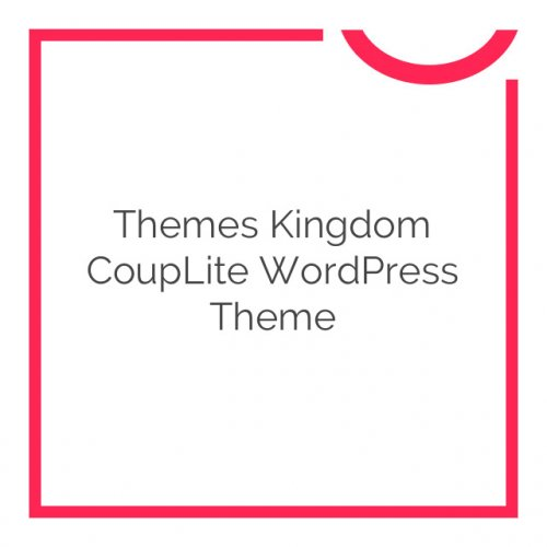 Themes Kingdom CoupLite WordPress Theme 1.0