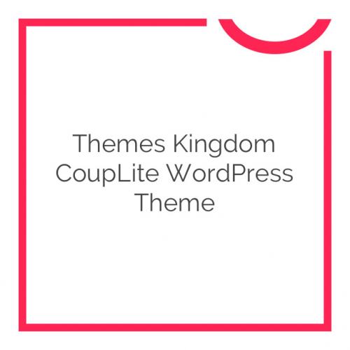 Themes Kingdom CoupLite WordPress Theme 1.0