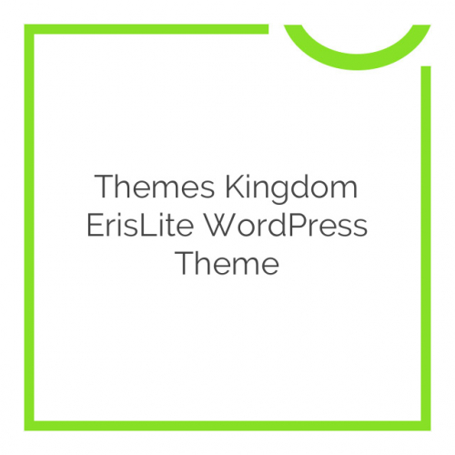 Themes Kingdom ErisLite WordPress Theme 1.0