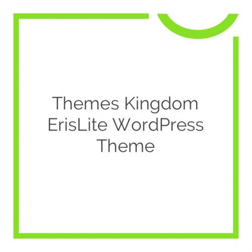 Themes Kingdom ErisLite WordPress Theme 1.0