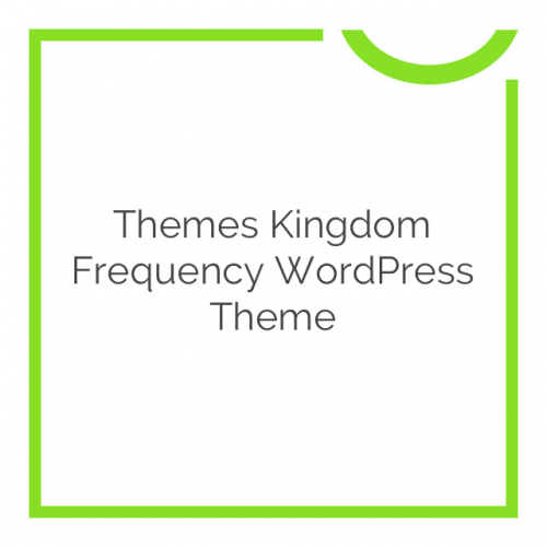Themes Kingdom Frequency WordPress Theme 1.2