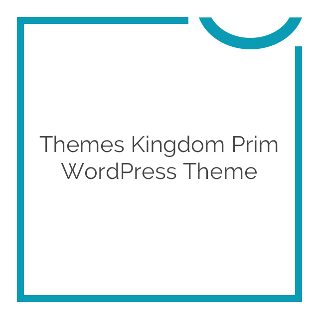Themes Kingdom Prim WordPress Theme 1.0.2