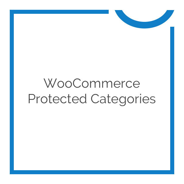 WooCommerce Protected Categories 2.0.0