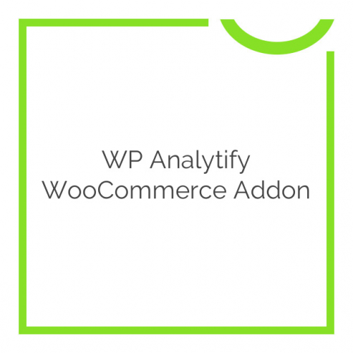 WP Analytify WooCommerce Addon 2.0.12
