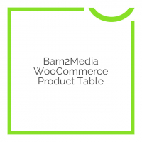 Barn2Media WooCommerce Product Table 2.4