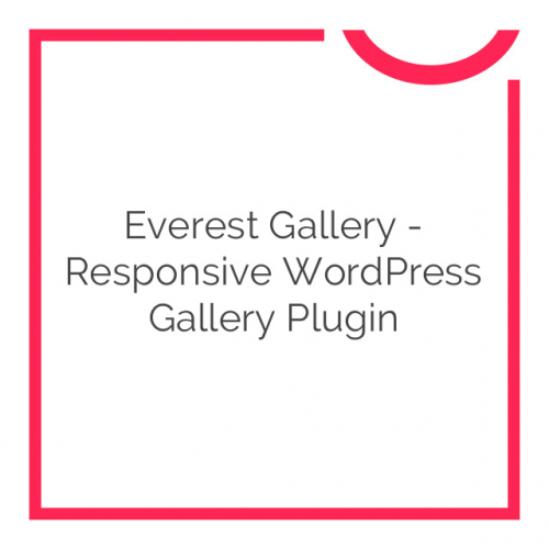Everest Gallery – Responsive WordPress Gallery Plugin 1.0.3