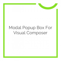 Modal Popup Box For Visual Composer 1.4.8