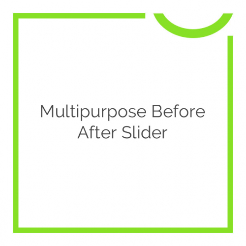 Multipurpose Before After Slider 2.7.1
