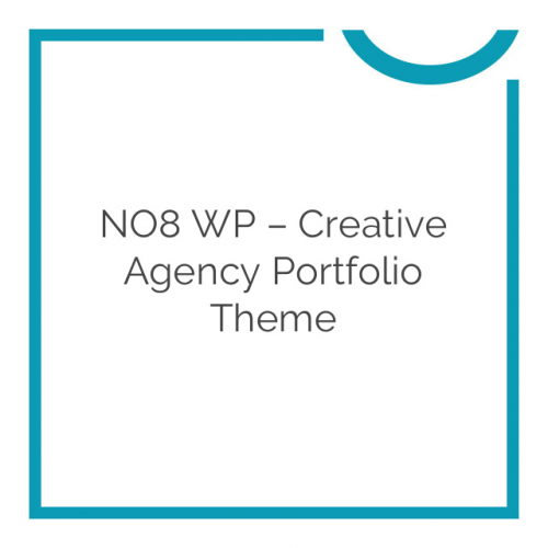 NO8 WP – Creative Agency Portfolio Theme 2.2