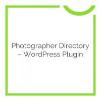 Photographer Directory – WordPress Plugin 1.0.6