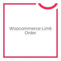 Woocommerce Limit Order 2.6