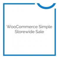 WooCommerce Simple Storewide Sale 1.1.6