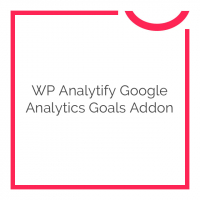 WP Analytify Google Analytics Goals Addon 1.1.3