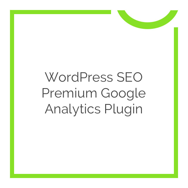 WordPress SEO Premium Google Analytics Plugin 5.5.2